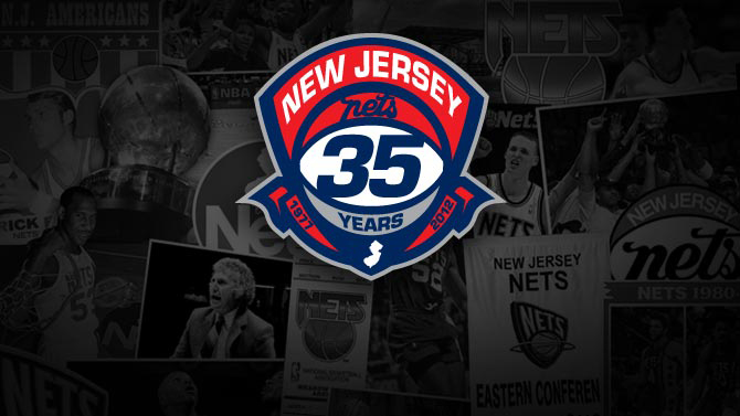 New jersey Nets 35 years pic