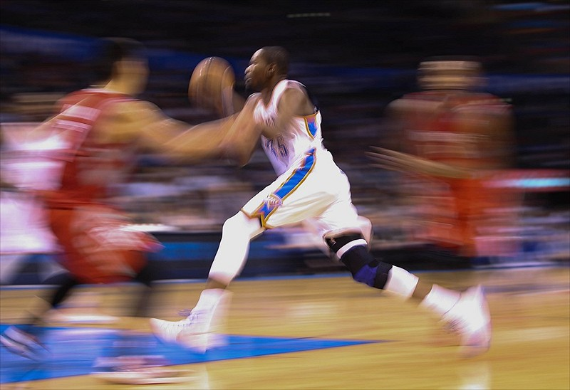 Kevin Durant the Blur