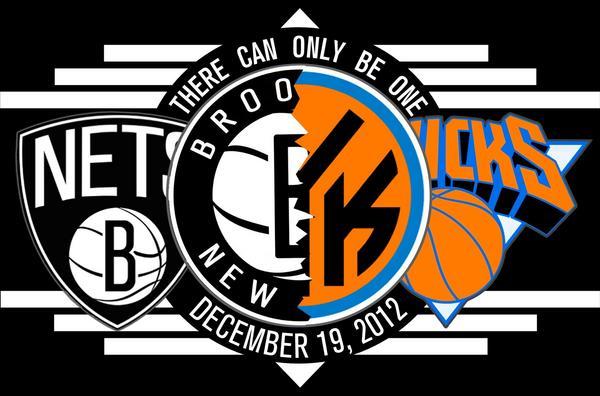 Nets vs Knicks 12.19.12