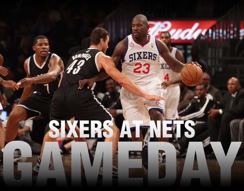 Sixers at Nets Gameday