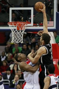 Brook Lopez Dunk on Wizards