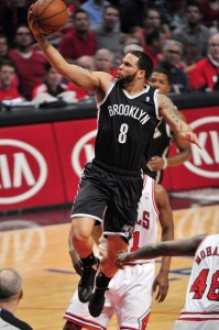 Deron Williams layup on Bulls