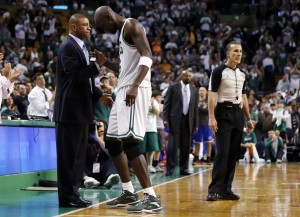 Doc Rivers says goodbye to Kevin Garnett Celtics