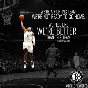 Gerald Wallace We are a better team