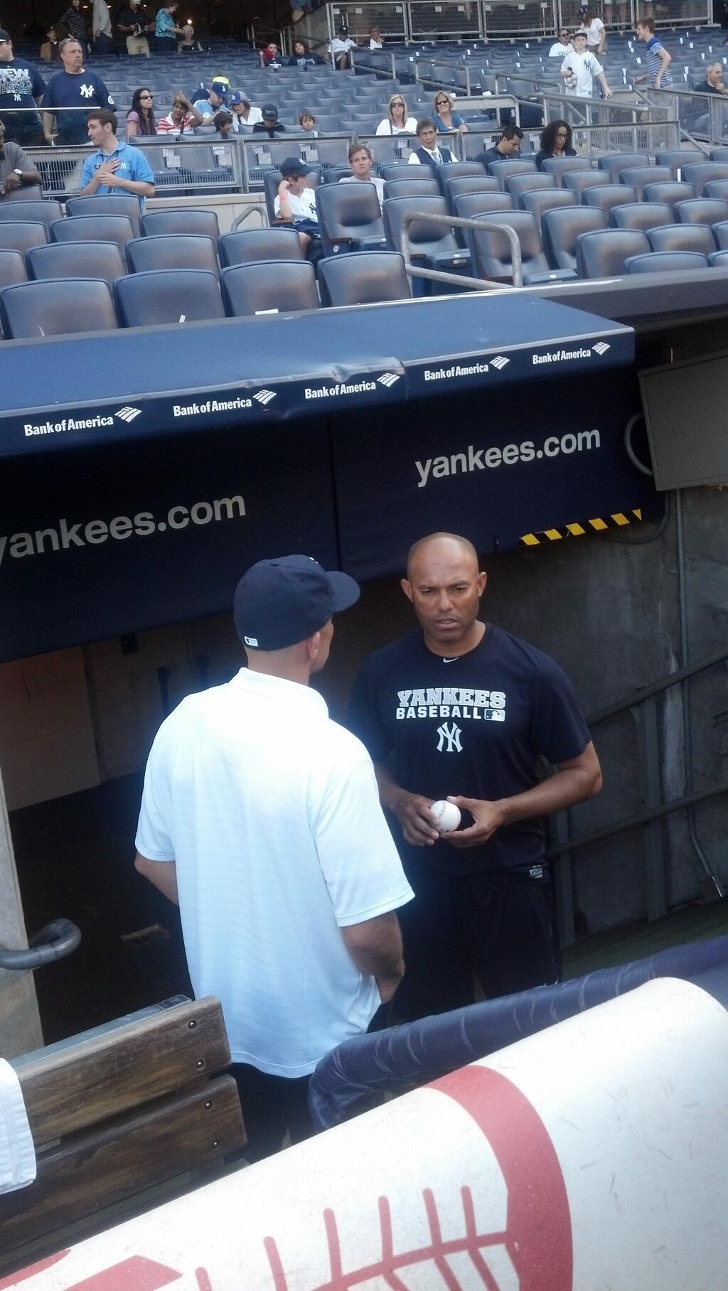 Jason Kidd meets Mariano Rivera