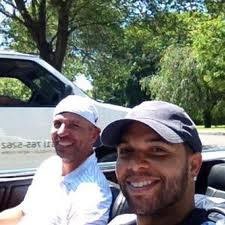 Jason Kidd and Deron Williams in the hamptons