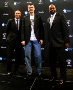 Kidd Prokhorov King at Press conference