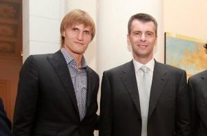 Kirilenko and Prokhorov pic