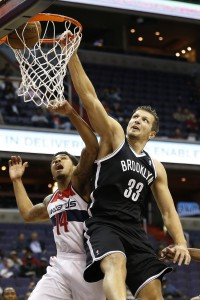 Mirza teletovic tomahawk dunk on Wizards