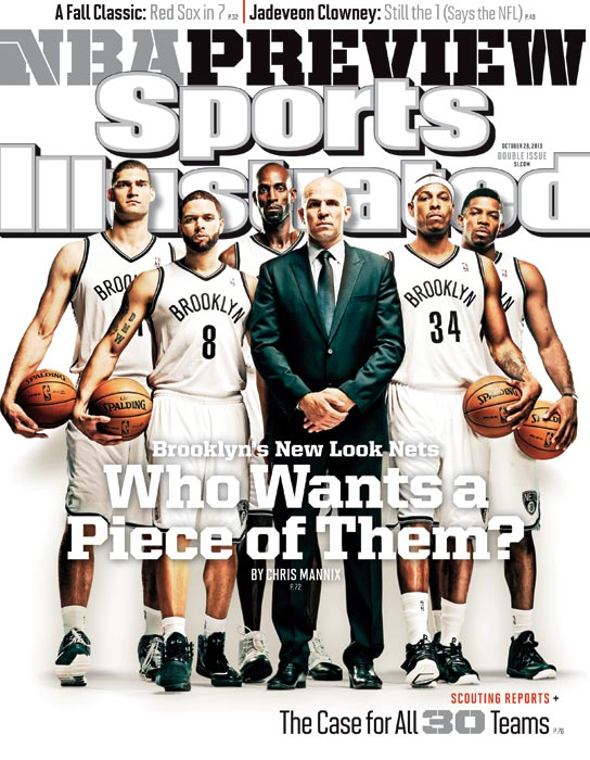 Nets 2013 SI cover