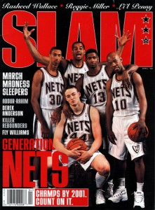 This wasn't the only time a Nets starting lineup was over hyped on a magazine cover.