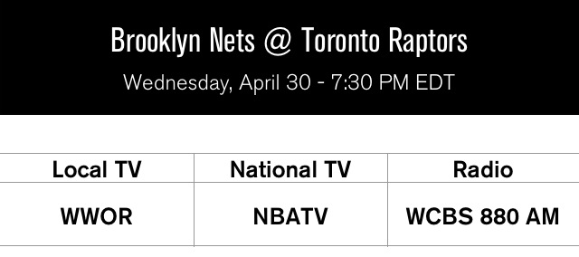 Nets at Raptors Game 5