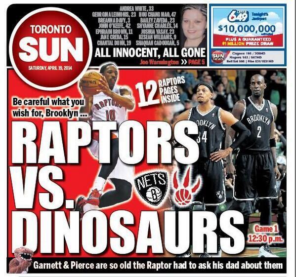 Raptors vs Dinosaurs