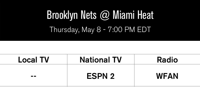 Nets at heat Game 2
