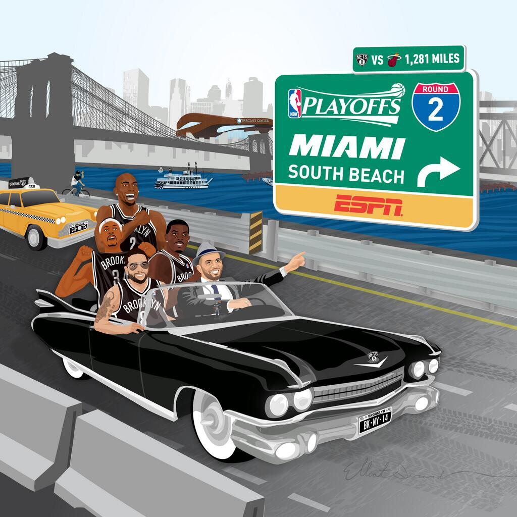 Nets headed to Miami pic