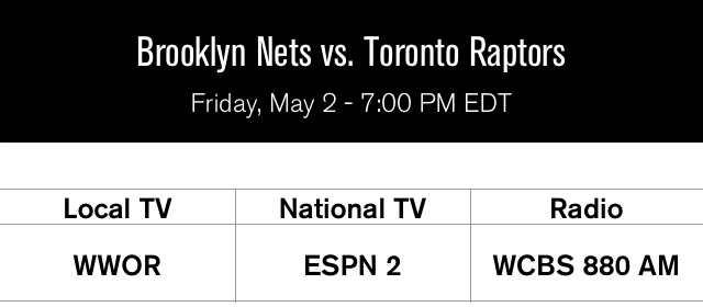Raptors at Nets Game 6
