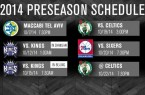 Nets preseason schedule 2014