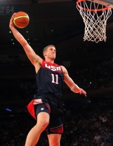 Mason Plumlee Team USA dunking
