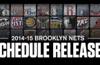 Nets 2014-15 Schedule release pic