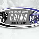 NBA global games Nets in China vs kings pic