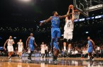 Brook Lopez dunks on the Thunder at home