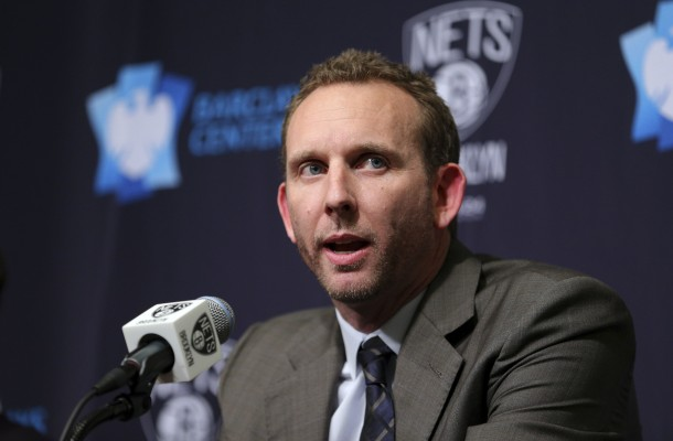 Sean Marks at Nets press conference introducing him